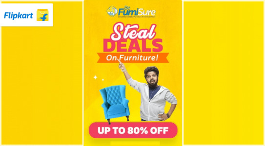 flipkart-steal-deals-on-furnitur