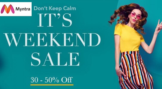 myntra-its-weekend-sale
