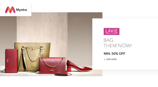 myntra-lavie-bag-and-shoes