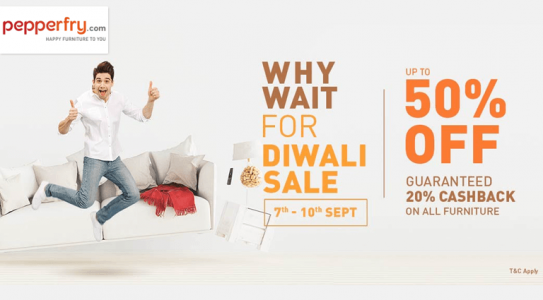 pepperfry-why-wait-for-diwali-sale