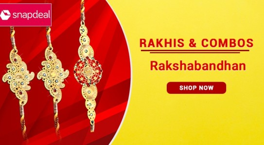 snapdeal rakhi and combos