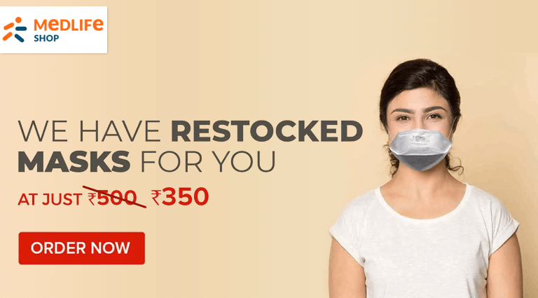 medlife restocked masks