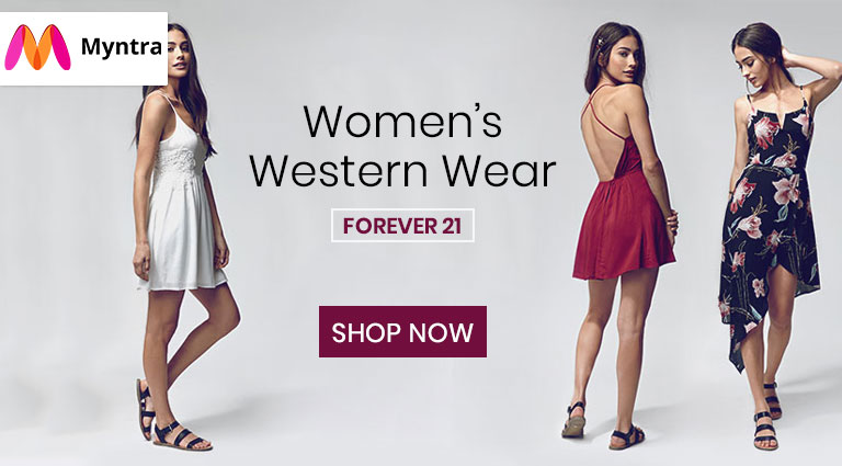 myntra womens western wear