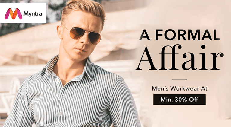 myntra a formal affair