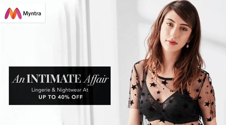 myntra an intimate affair