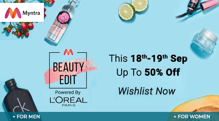 myntra beauty edit