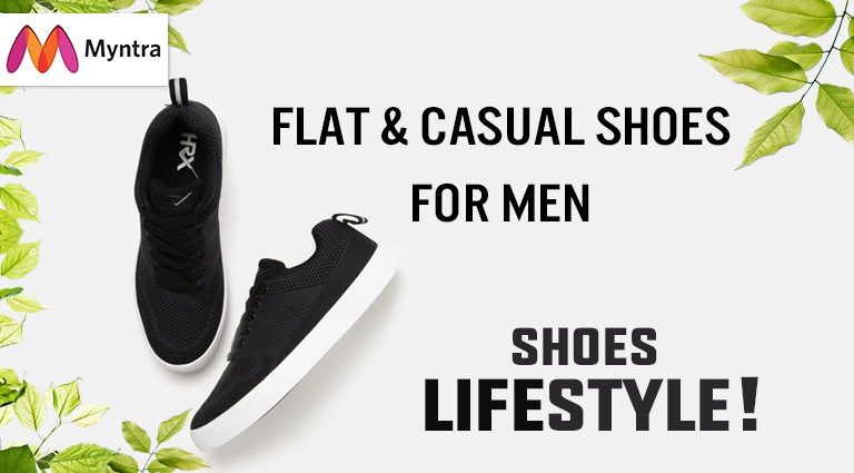 29697c58c4cd29 Myntra - Buy Online Flat   Casual Shoes For Men