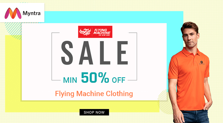 myntra flying machine clothing