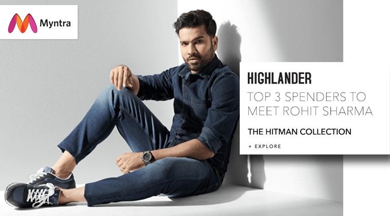 myntra highlander collection