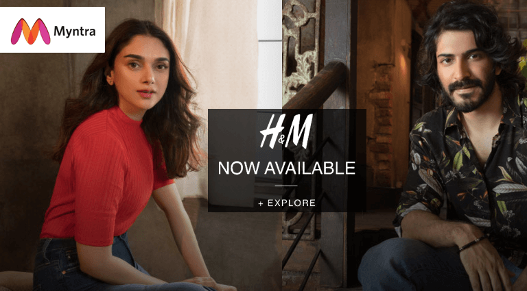 myntra hm now available