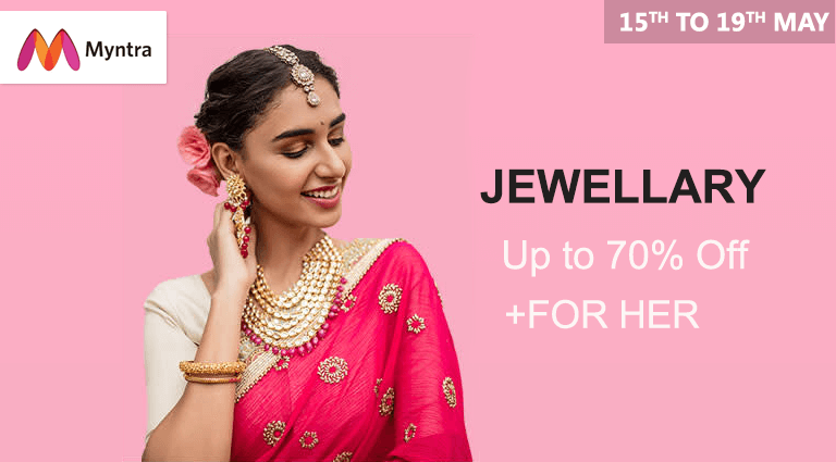 myntra jewellery collection