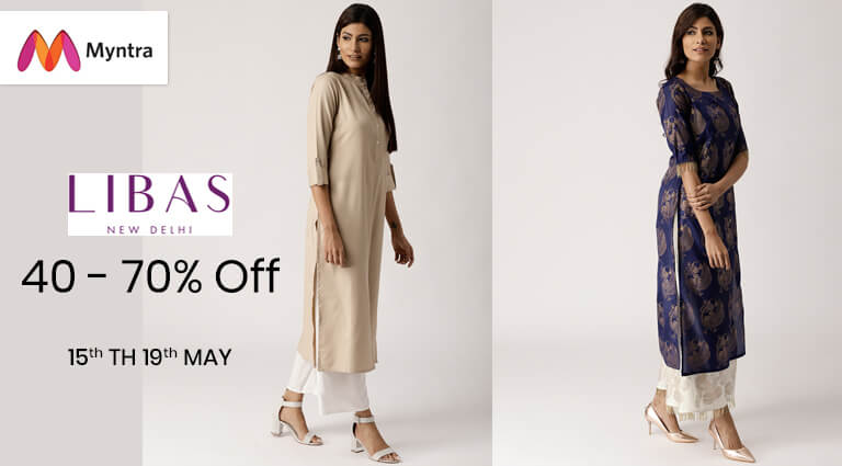 myntra libas collection