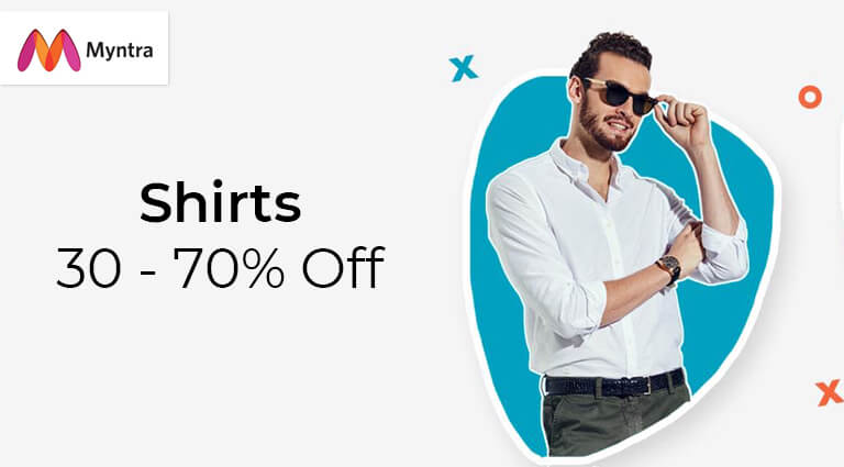 myntra shirts collection