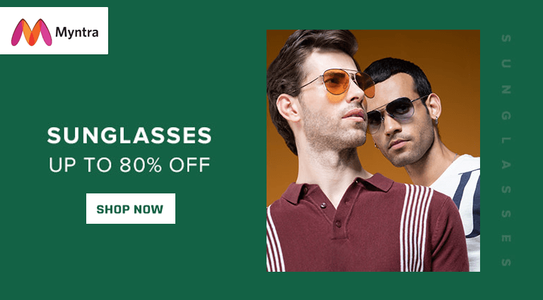 myntra sunglasses collection for men