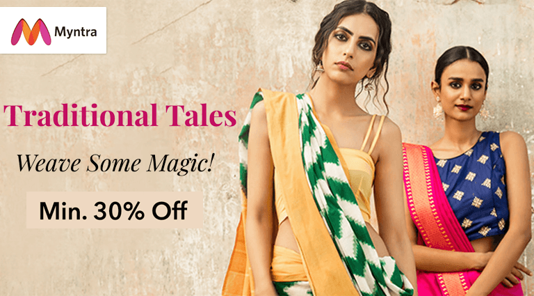 myntra traditional tale