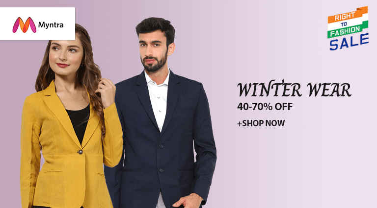myntra winter wear collection