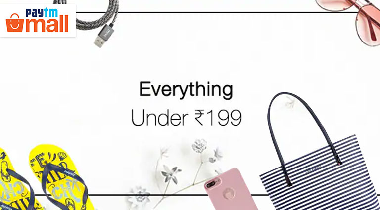 paytm mall everything under rs199