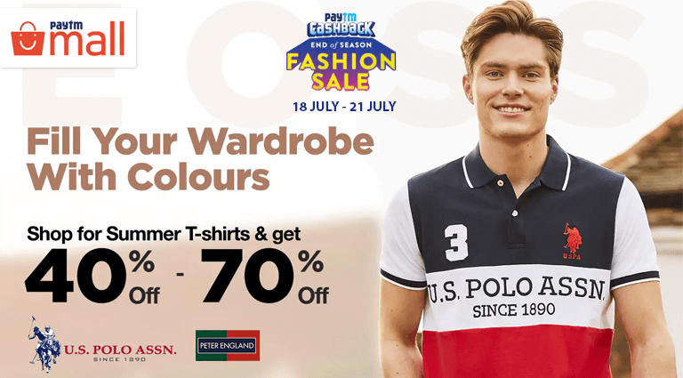 paytm mall fill your wardrobe with colours