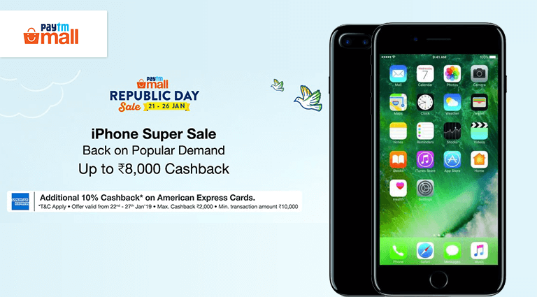 paytm mall iphone super sale