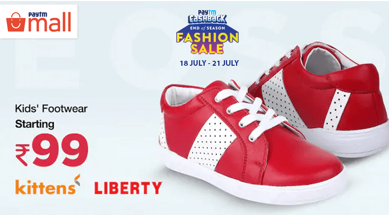 paytm mall kids footwear collection