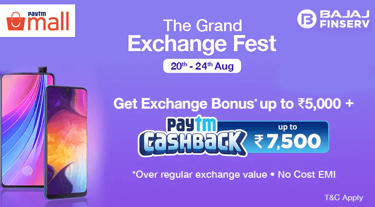 paytm mall the grand exchange fest