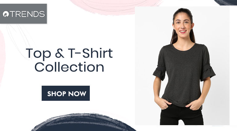 reliance trends top and t shirt collection