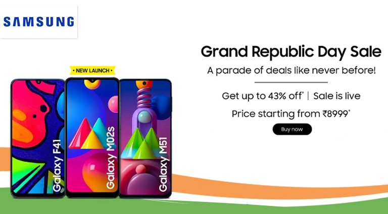 samsung special offer on republic days