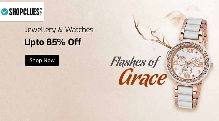 shopclues jewelry watches