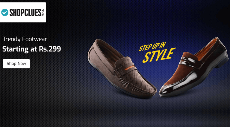 shopclues loafers and moccasins for men