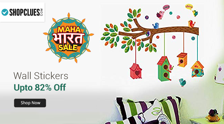 shopclues - wall stickers