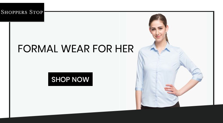 shoppersstopcom formal wear for her