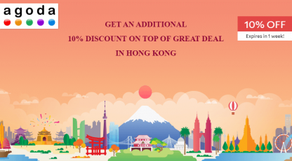 agodacom great deals in hong kong