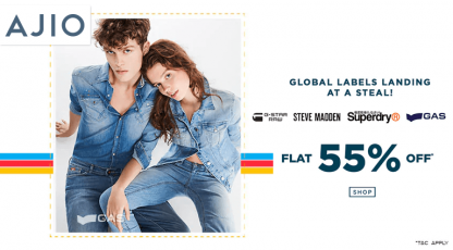 ajiocom global labels landing at a steal