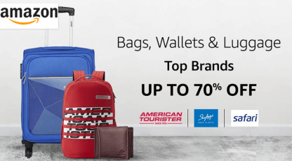amazon bags wallet and luggage