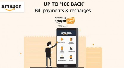 amazon bill payments and recharges
