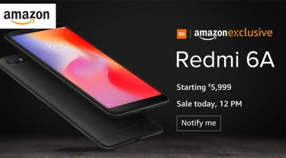amazon redmi 6a