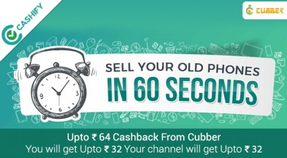 cashify sell second hand mobile phone