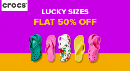 crocs lucky sizes shoes