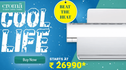 cromacom beat the heat with air conditioners