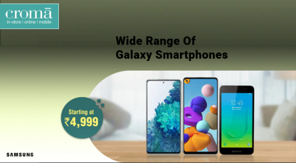 cromacom wide range of galaxy smartphones