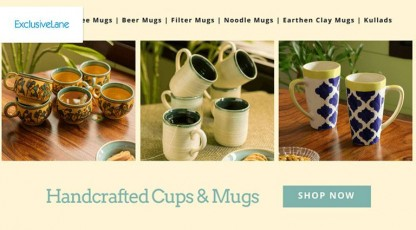 exclusivelane handcrafted cups and mugs