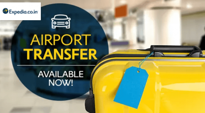 expediacoin airport transfer available now