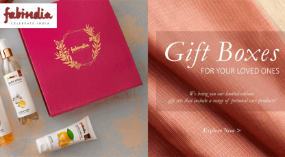 fabindia gift boxes for your loved ones