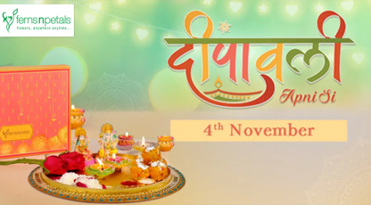 fernsnpetals bring the festive delight with diwali gifts