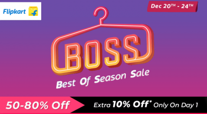 flipkart best of the season sale