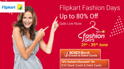 flipkart flipkart fashion days