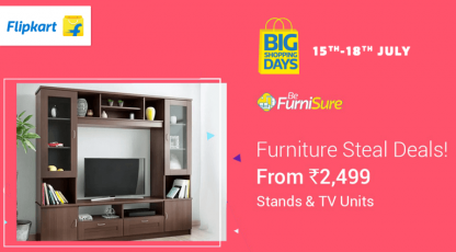 flipkart furniture steal deals