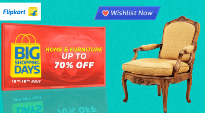 flipkart home and furniture big shopping days
