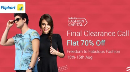 flipkart india ka fashion capital