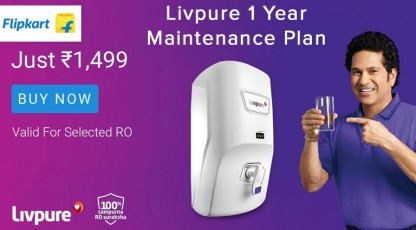 flipkart livpure 1 year maintenance plan